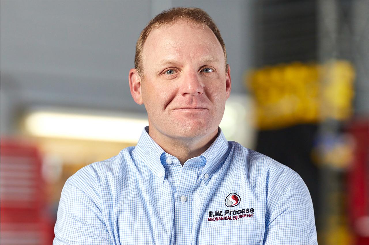Headshot of E.W. Process employee Chris McDowell