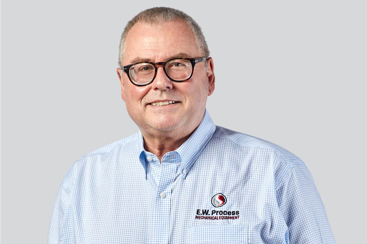 Headshot of E.W. Process employee John Hodge