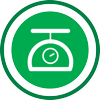 Process weighing icon