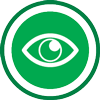 Sight glasses icon