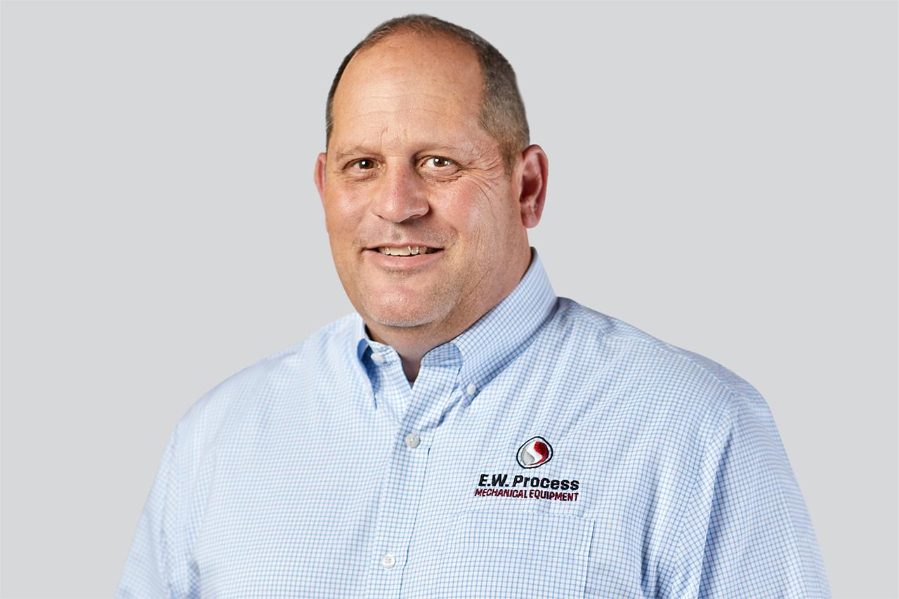 Headshot of E.W. Process employee Richard Sharpless
